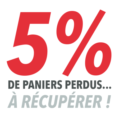 5% de paniers perdus… à récupérer !